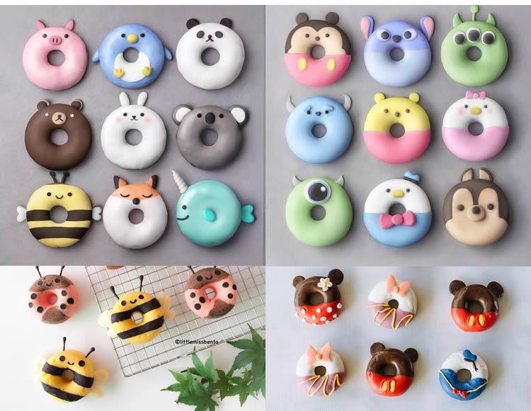 donuts per a una festa infantil