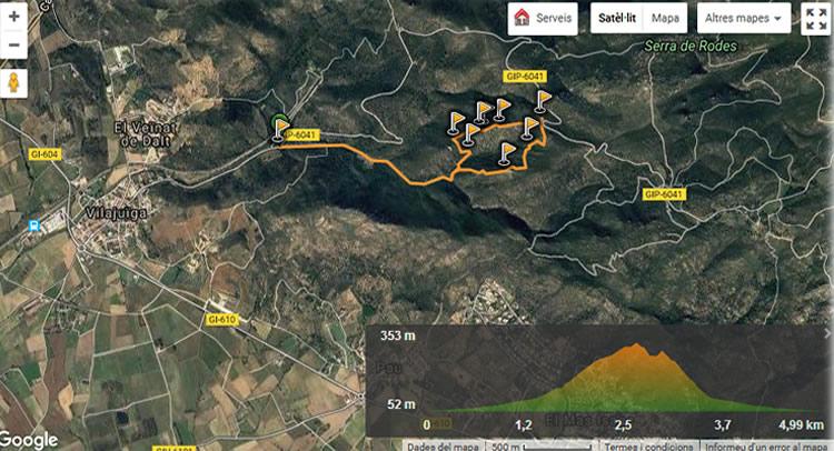 Ruta de megalítica a Vilajuïga10