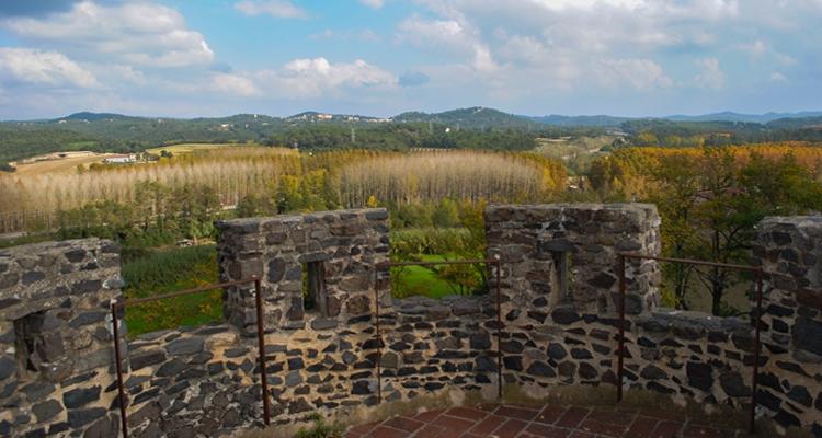 La Tordera i el parc de les Rieres a Hostalric
