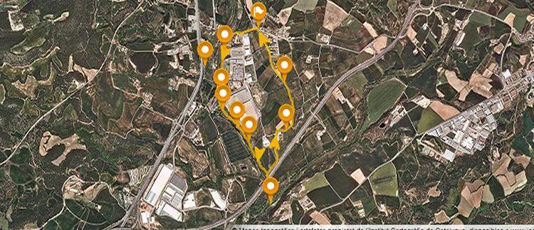 Passeig pel riu Llobregat a la Corbatera a Sallent