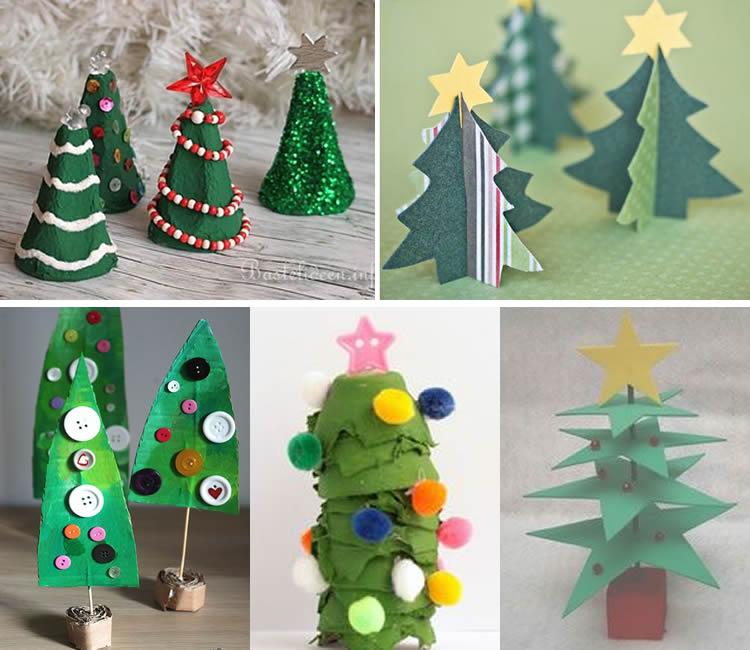 petits arbres de nadal decoratius cartro