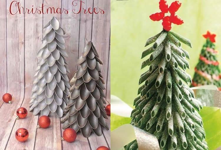 petits arbres de nadal decoratius