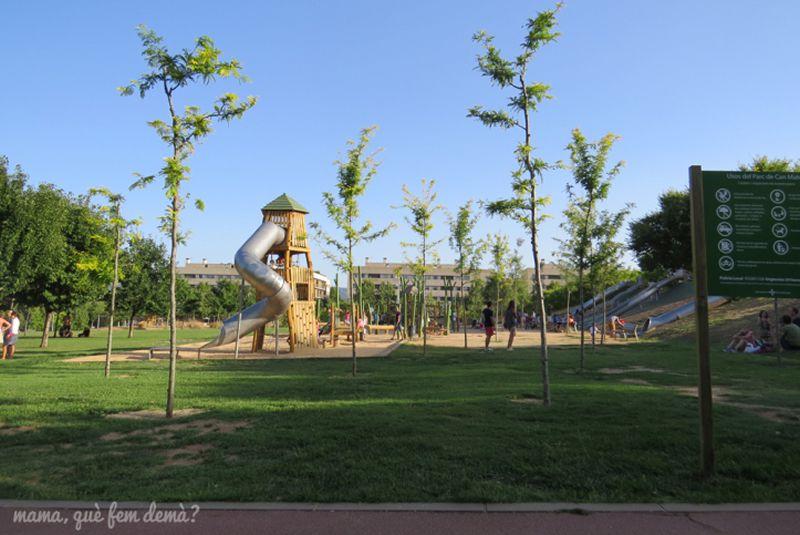Parc Turó de Can Mates a Sant Cugat del Vallès