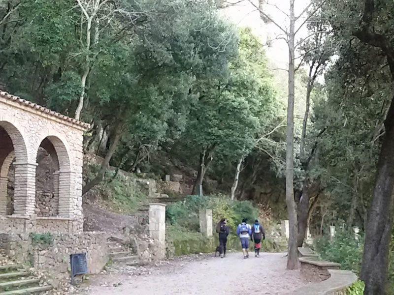 Camí dels Degotalls a Montserrat
