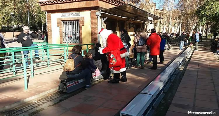 Pare Noel Parc Can Mercader a Cornellà de Llobregat