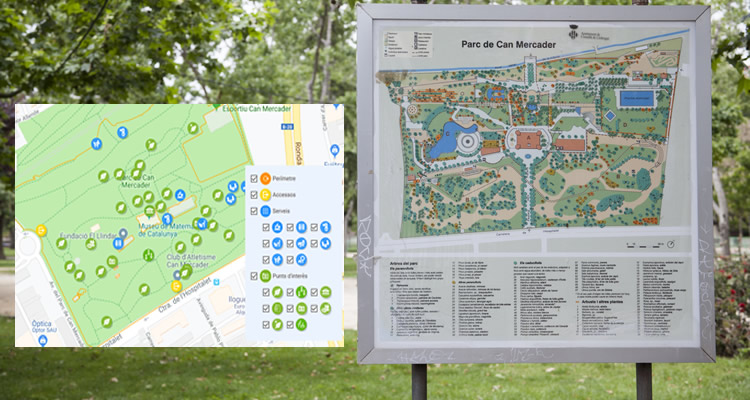 Parc Can Mercader a Cornellà de Llobregat