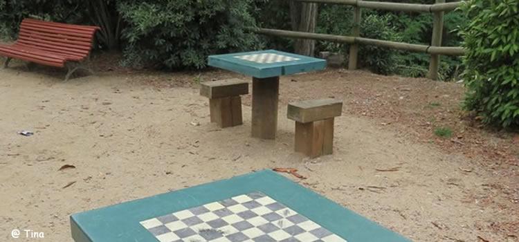 Parc de Can Rius a Caldes de Montbui