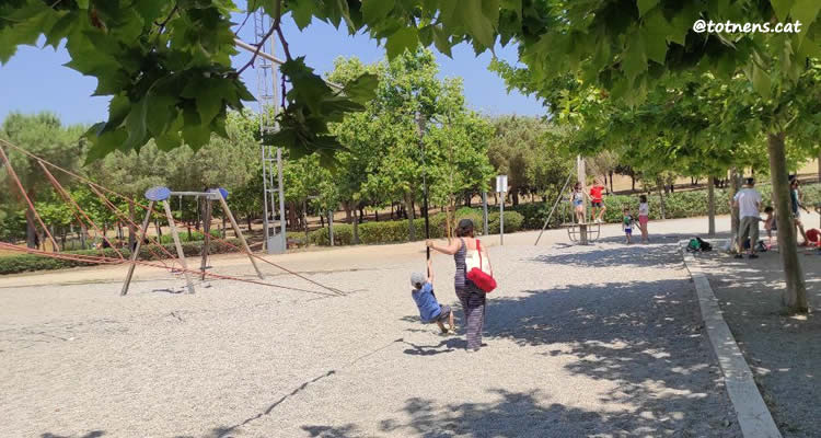 Parc de Catalunya de Sabadell tirolina
