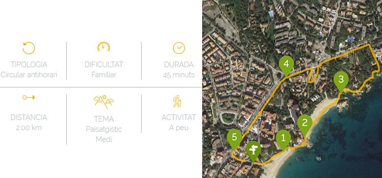 Camí de Ronda Cala Rovira a Platja d'Aro