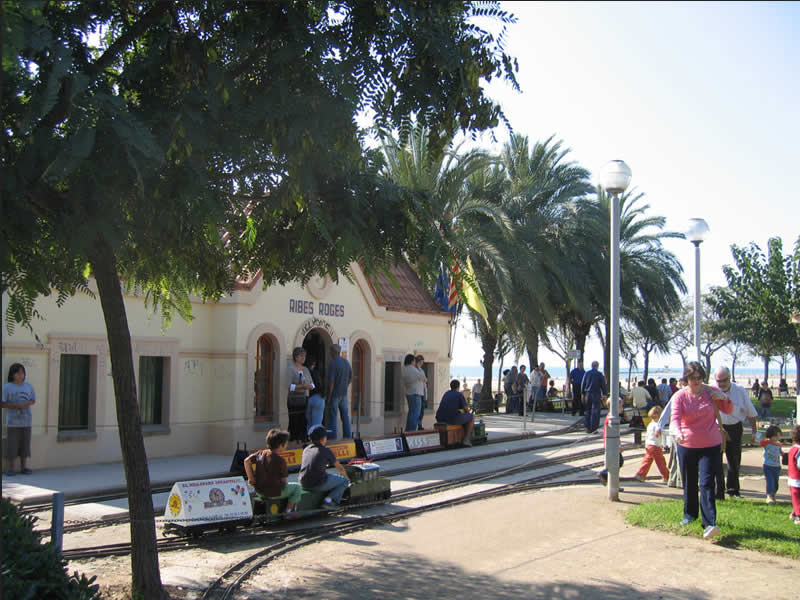 Parc Ribes Roges de Vilanova i la Geltrú