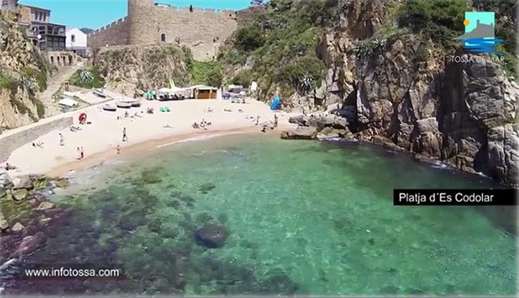 Camí de Ronda Es Cards a Es Codolar a Tossa de Mar