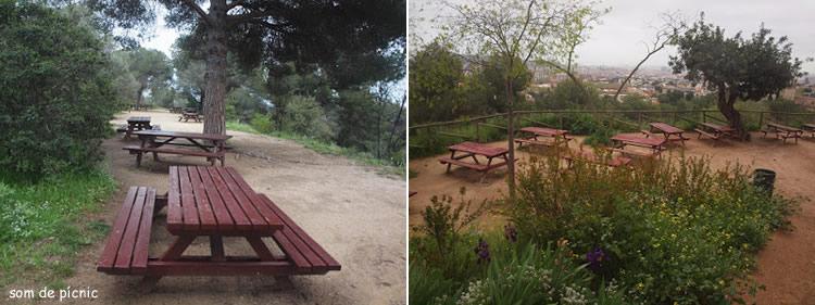 Parc del Castell de l'Oreneta a Barcelona
