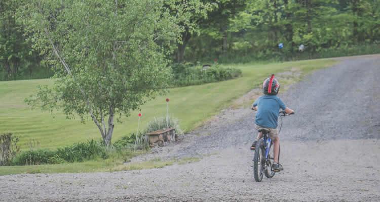 rutes en bici amb nens