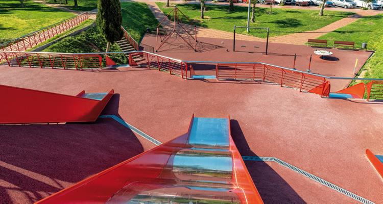 Parc de la Solidaritat a Esplugues de Llobregat