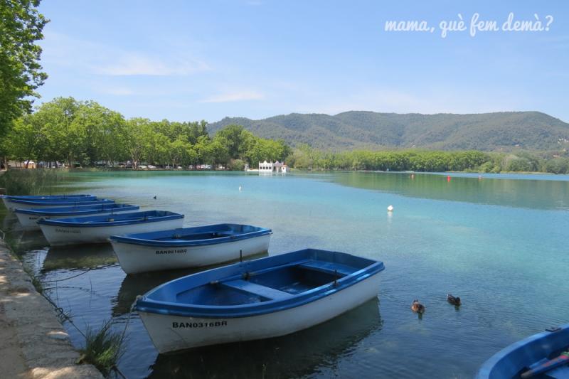 Volta a l'estany de Banyoles amb bicicleta