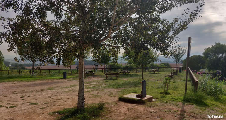 zona picnic Ecorail del Cardener