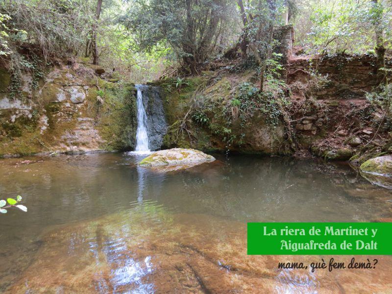 Riera de Martinet i Aiguafreda de Dalt