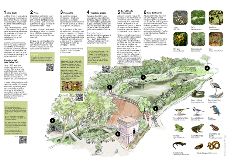 Sortides en família: Parc de Collserola - Pantà de Vallvidrera