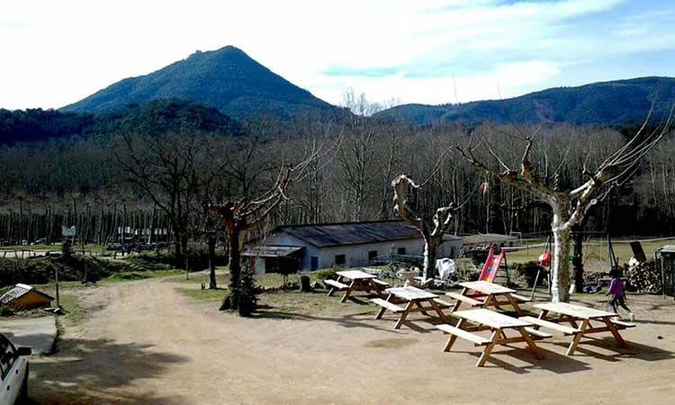 Àrea de pícnic El Pol, dinar amb nens al Montseny