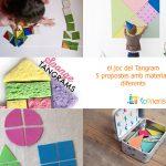 Com fer un Tangram: 5 propostes amb materials diferents
