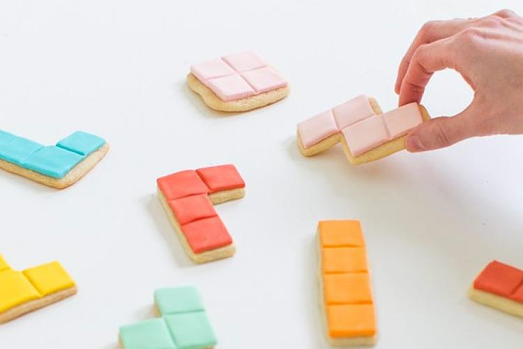 Galetes joc tetris per fer amb nens