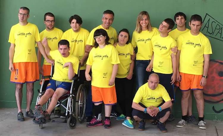 4t Milla Sarrià - Correm Junts, amb la discapacitat intel·lectual