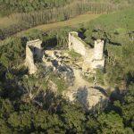 Castell de Sant Iscle amb nens