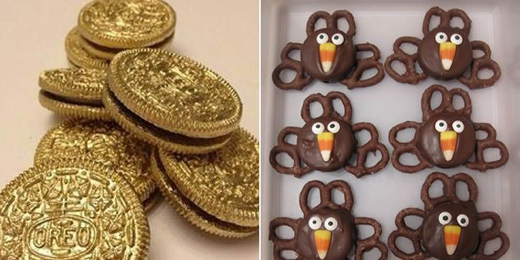 Decorar galetes Oreo amb els nens