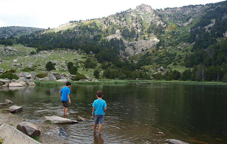 Excursió amb nens a la Cerdanya: Estanys de Malniu