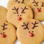Galetes de Nadal fàcils decorades amb el ren Rudolf