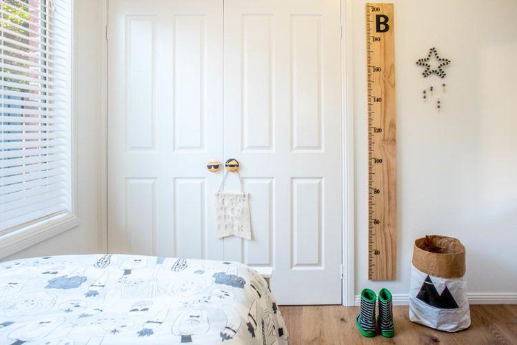 Habitació nòrdica infantil, complements i detalls decoratius