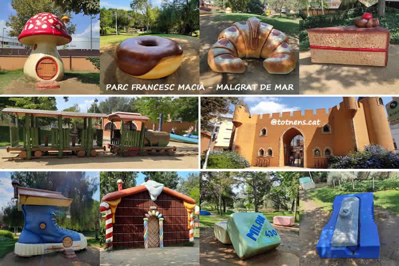 Parc Francesc Macià de Malgrat de Mar