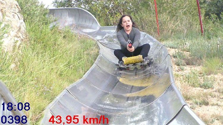 Tobogan Calafell Slide, el tobogan gegant de trineus de 700m