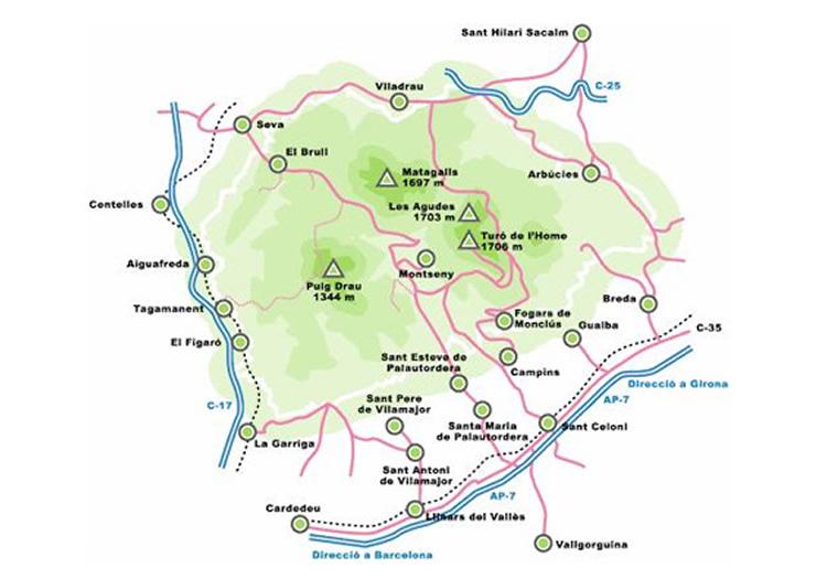 Excursions al Montseny amb nens. Recull d'itineraris