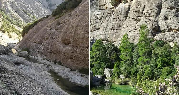 Excursions amb nens entre pedres i roques