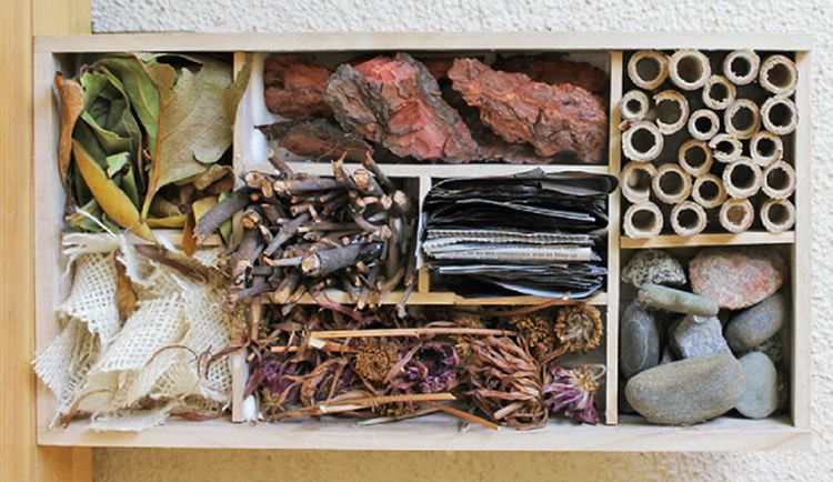 Hotels d'insectes per augmentar la biodiversitat