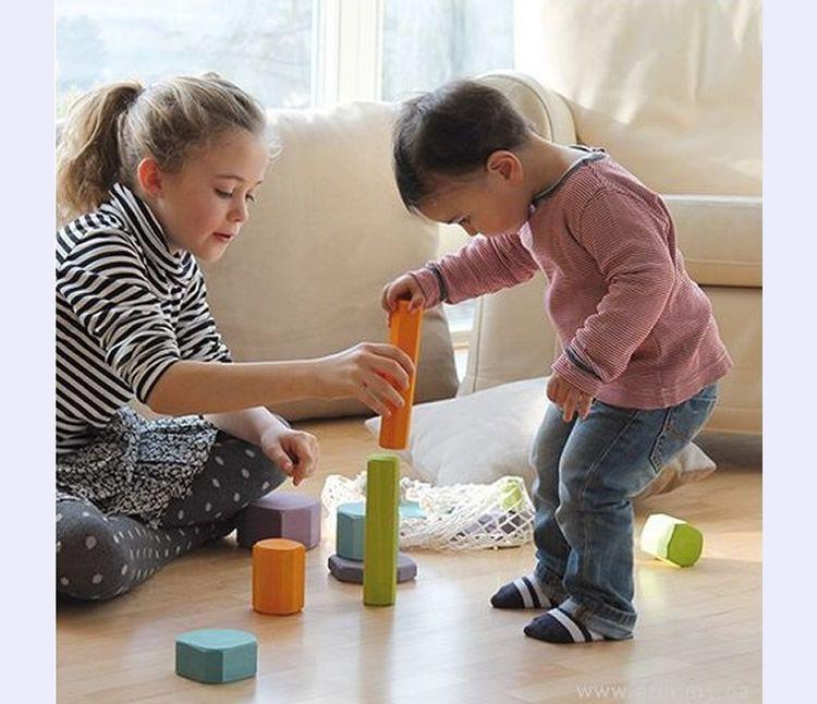 Les joguines de fusta de VeoBio