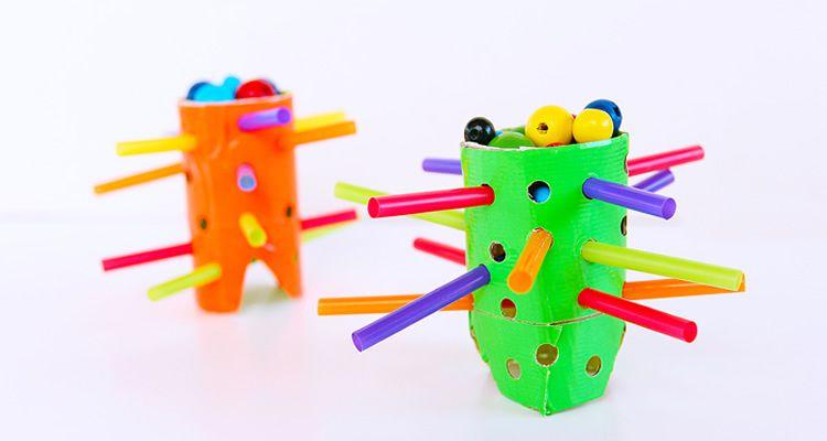 Manualitats amb tubs de cartró. Jocs de construcció