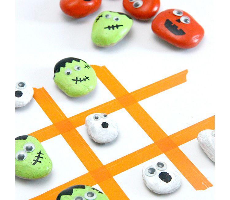 Manualitats fàcils de Halloween per a nens