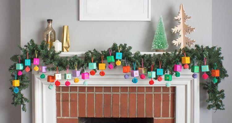 Calendaris d'Advent per fer a casa