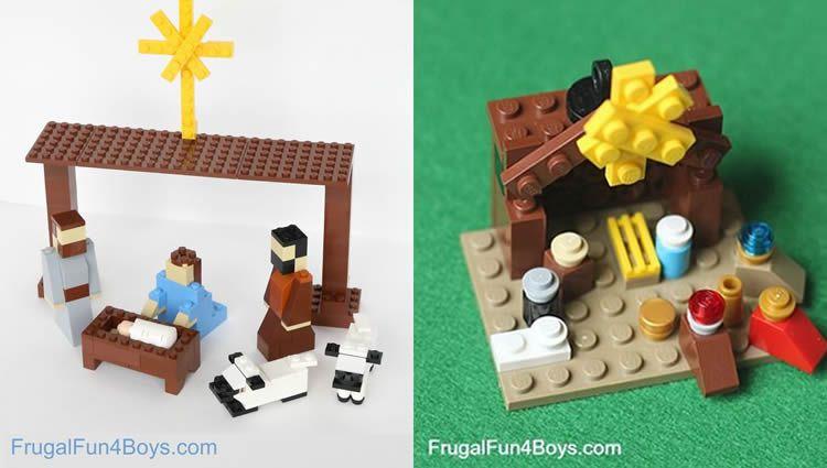 Calendari d'Advent Lego per fer amb els nens