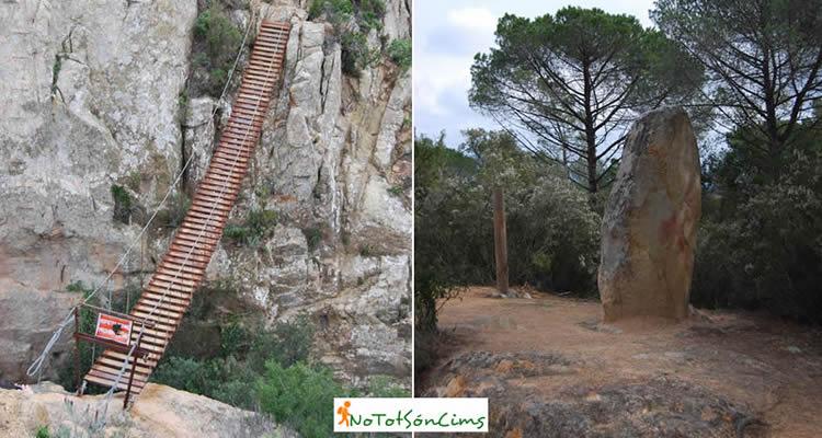 Carcaixells i el Montclar, ruta equipada per fer amb nens