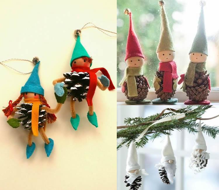 Manualitats de Nadal: decoració arbre de Nadal (2)
