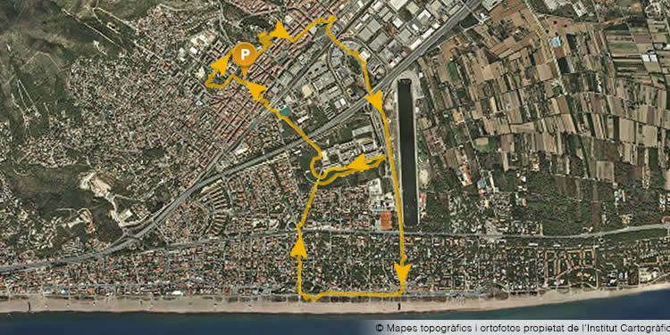 Descobrir Castelldefels amb nens, caminada urbana