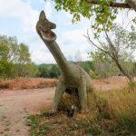 El dinosaure de la C-58 a Vacarisses