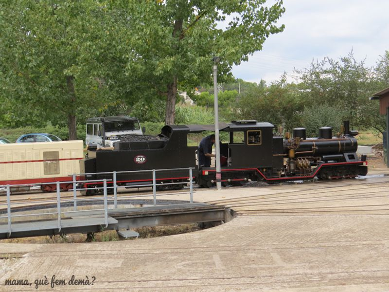 Tren de Palau al Parc de l'Hostal del Fum