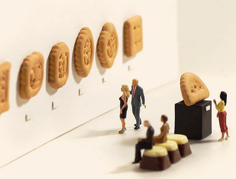 El creatiu món en miniatura de Tatsuya Tanaka a totnens