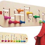 Penjadors infantils de paret per a l'habitació dels nens