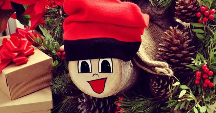 Gimcana de Nadal i muntatge del Tió a CAN amb tocaeldos