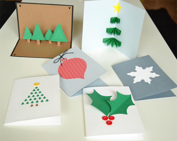 Postals de Nadal per fer amb nens
